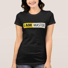 I AM MASTER | I AM NIKON SERIES T-SHIRTS