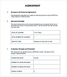 Accounting service level agreement template service for Technical support agreement template