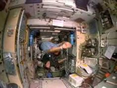 Shuttle Astronauts Weightless in Space  Cool video to help kids see how astronauts do differnt things.