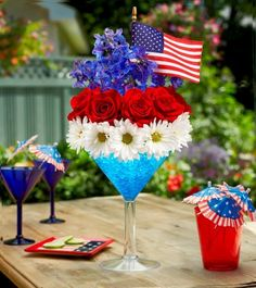 cute 4th of July centerpiece...