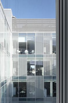 Image 19 of 34 from gallery of Blackpool Talbot / AHR Architects. Photograph by Daniel Hopkinson Facade Architecture, Residential Architecture, Facade Design, House Design, Lobby Interior, Blackpool, Types Of Houses, Exterior, Building