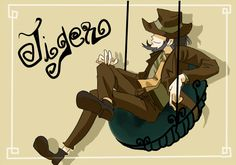 jigen by raidaiki on DeviantArt Lupin The Third, Samurai Jack, Cowboy Bebop, My Favorite Image, Anime Characters, Fictional Characters, Drawing Reference, My Images, Detective