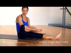 Ashtanga Yoga Primary Series: Janu Sirsasana A with Maria Villella