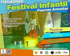 Invitación de Campeones Kids al V Open Internacional de Taekwondo de Fuerzas Armadas