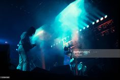 Foto di attualità : British Pop musicians Mike Rutherford , Phil...