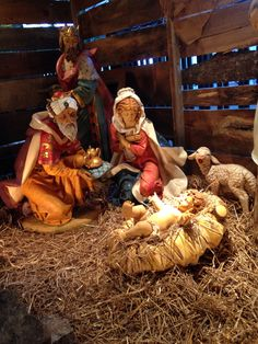 Christmas at The Cove. #Creche  #Jesus #Nativity