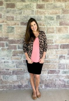 leopard cardigan out