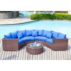 Found it at Joss & Main - 5 Piece Deep Seating Group with Cushion