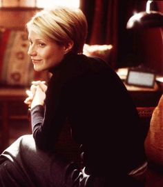 oh, for every time i have cut my hair short, gwyneth in sliding doors is to blame.