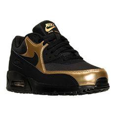 reputable site ff00a 18d0b Authentic Nike Air Max 90 Essential Black Metallic Gold   537384 058 men  sz. 2day.Cheap · Men s Shoes