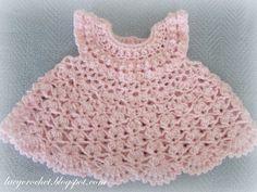 Crochet+Baby+Dress   fellow crocheter and blogging friend sarah from sarahsweethearts ...