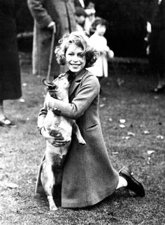 Queen Elizabeth and Her Corgis: A Love Story.