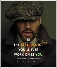 Best Project you'll ever work on is you  -- For More Quotes Follow @idiotic.world  -- #money #motivation #success #cash #wealth #grind #lifestyle #business #entrepreneur #luxury #moneymaker #work #successful #hardwork #life #hardworkpaysoff #businessman #passion #millionaire #love #networkmarketing #businessowner #motivational #desire #entrepreneurship #stacks #entrepreneurs #smile #idiotic_world #instagood