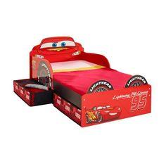 Disney Cars Lightning McQueen Kinderbett mit Schubladen Jetzt bestellen unter: https://moebel.ladendirekt.de/kinderzimmer/betten/kinderbetten/?uid=1051443b-9c4f-5532-acbe-14db626e8f3b&utm_source=pinterest&utm_medium=pin&utm_campaign=boards #kinderzimmer #kinderbetten #betten