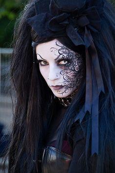 Enhanced #Goth girl