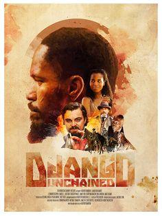 Django Unchained by Richard Davies, via Behance