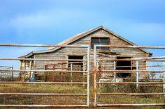 barn and rust