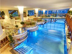 Espectacular piscina interior de acero inoxidable. Stainless steel pools