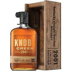 Knob Creek 2001 Limited Edition Small Batch Kentucky Straight Bourbon