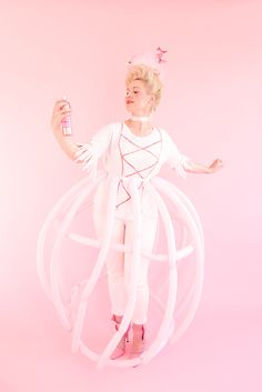 We've got 3 last minute Halloween costumes that you can make from things in your craft closet! Beautiful and quick!