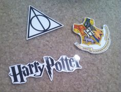 Harry Potter sticker pack by CatsGroove on Etsy https://www.etsy.com/listing/215556898/harry-potter-sticker-pack
