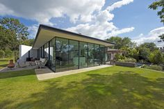 SeaGlass on the Isle of Wight, designed by The Manser Practice, via The Property Files. For sale with Knight Frank and Creasey Biles King.
