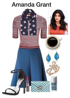 """""""Mrs president"""" by amanda-elpidio on Polyvore featuring Dorothee Schumacher, Topshop, Anne Sisteron, Bloomingdale's, Accessorize, Wilbur & Gussie, Christian Dior, Bobbi Brown Cosmetics and Stuart Weitzman"""