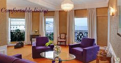 Le Negresco is a one-of-a-kind, art-filled, luxury hotel in Nice on the French Riviera. Hotels, Antibes, French Riviera, Old Town, Beautiful Places, Lounge, Curtains, Luxury, Home Decor
