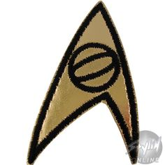 Star Trek Badge Science Patches