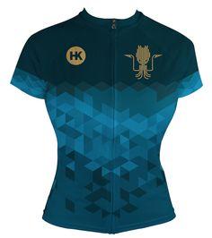 453c15e6e95 Kraken Blue Women's Jersey (Pre-Order) Cycling Gear, Kraken, Cycling  Equipment