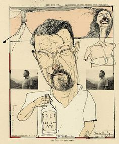 David Hughes. the new yorker : malcolm lowry