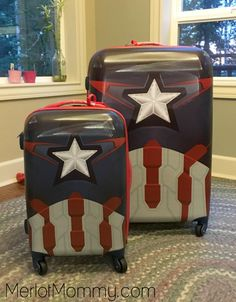 Pack More Fun with Marvel Luggage from American Tourister