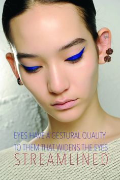 LUMINNEJ: M.A.C Presents The Autumn/Winter 2014 Makeup Trends: Part 1 - OFF COLOUR and STREAMLINED