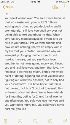 Writing a letter to your ex might seem cheesy and weird but it helped me so much in such a dark time Quotes And Notes, New Quotes, Tweet Quotes, Mood Quotes, Funny Quotes, Letter To My Boyfriend, Letter To My Ex, Ex Boyfriend Quotes, First Heartbreak Quotes