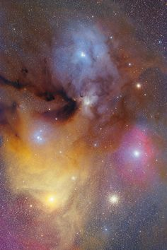 Rho Ophiuchi and Antares with FSQ-106ED and Reducer QE 0.73x April 2011 Saturation Elevated Light Version By hirocun