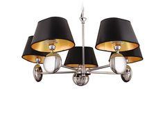 Lampa wisząca w stylu artdeco Napoleon, Wall Lights, Ceiling Lights, Chandelier, Led, Lighting, Pendant, Home Decor, Appliques