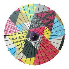 舞妓傘-鱗(まいこがさ-うろこ)|和日傘(舞踏傘)なら北斎グラフィックwargo