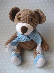 Kostenlose Häkelanleitung Teddybär