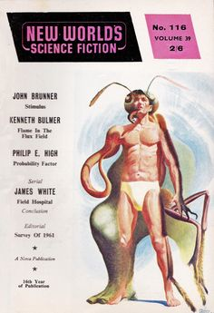 New Worlds Science Fiction. No.116 March.1962 Cover Art. Quinn