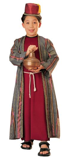 Christmas Costumes Child Three Wisemen Balthazar Costume HalloweenCostumes4u.com $47.50