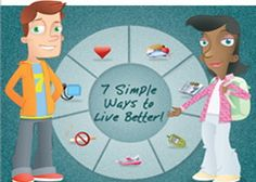 Keep your heart healthy with Life's Simple 7 for Kids -- Small things kids can do every day that keep their bodies healthy