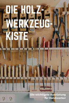 Wir verraten, welche Werkzeuge zur Holzbearbeitung in keiner Werkzeugkiste fehlen sollten! Magnetic Knife Strip, Knife Block, Tools, Home, Hand Saw, Protractor, Tool Box, Wood Windows, Instruments