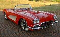 Gorgeous '62 Corvette. Awesome American Icon