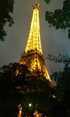 Paris accomplished by Effel Tower.