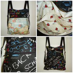 Albamare Manualidades - Handicrafts: Costura para torpes: MOCHILA (Parte 2)