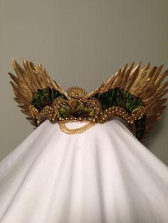 HEADRESS Emerald Phoenix — AMAROQ