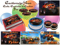 Personalize your Blaze and the Monster Machine by Mysweettemptations