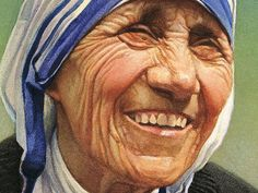 mother theresa smiling - Google Search