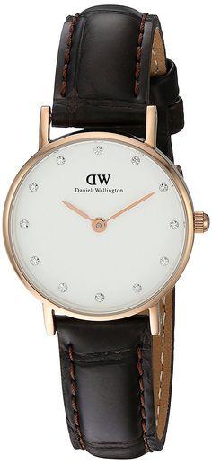 Daniel Wellington Women's 0902DW Classy York Swarovski Crystal-Accented Watch *** Visit the image link more details.