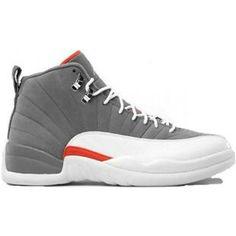 c20210281aeaf4 Jordan Retro 12 - Men s - Cool Grey White Team Orange - The man loves his  shoes!